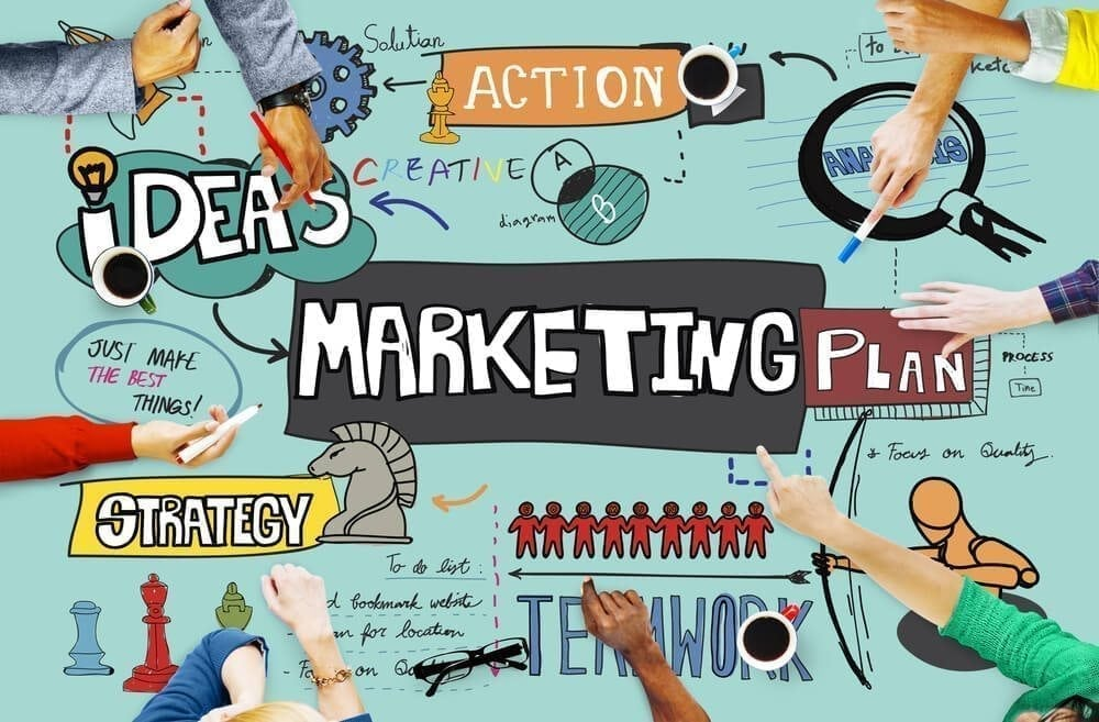 marketing trends 2018 collage